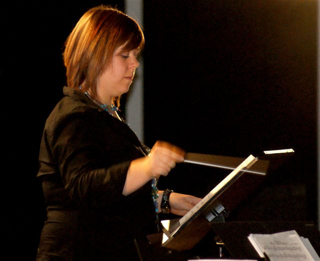 Kristina Schmitt übernimmt die Leitung des Schülerorchesters