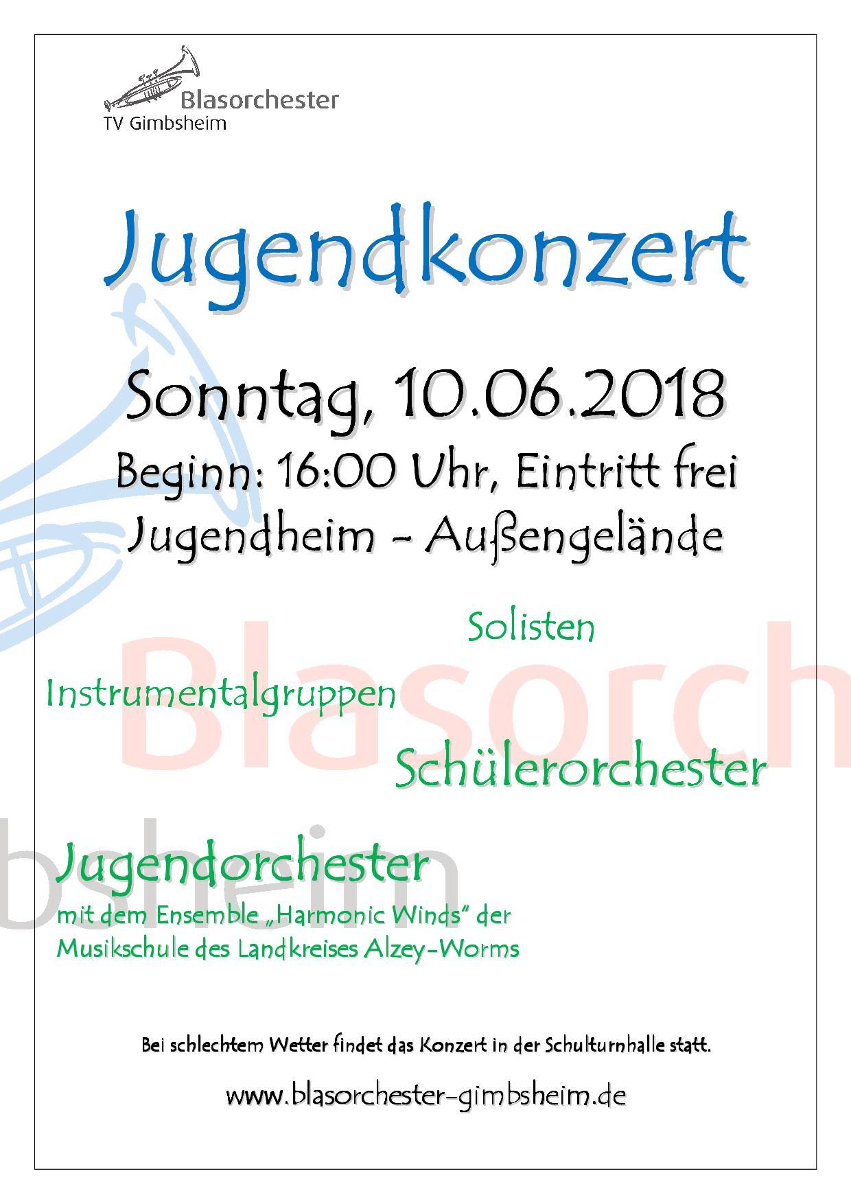 Großes Jugendkonzert