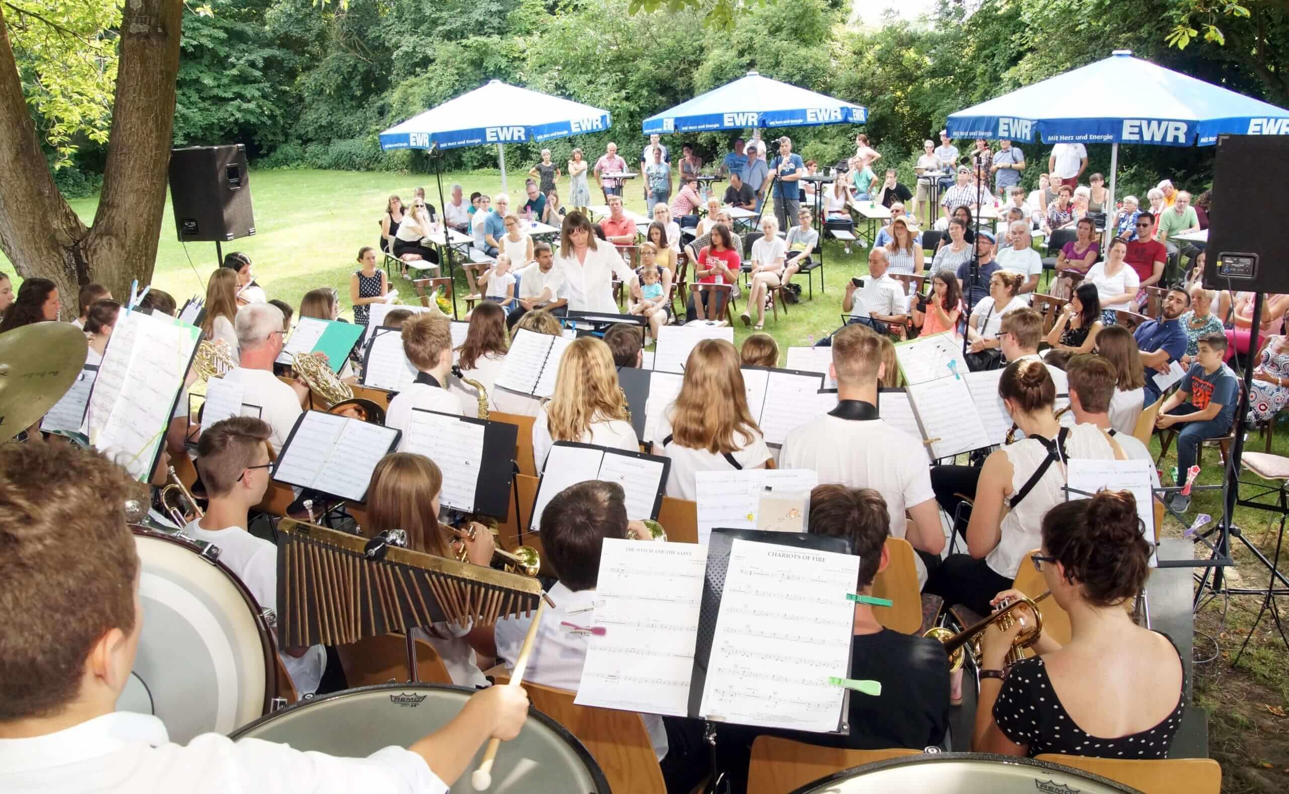 Erstes Open-Air-Jugendkonzert war ein voller Erfolg