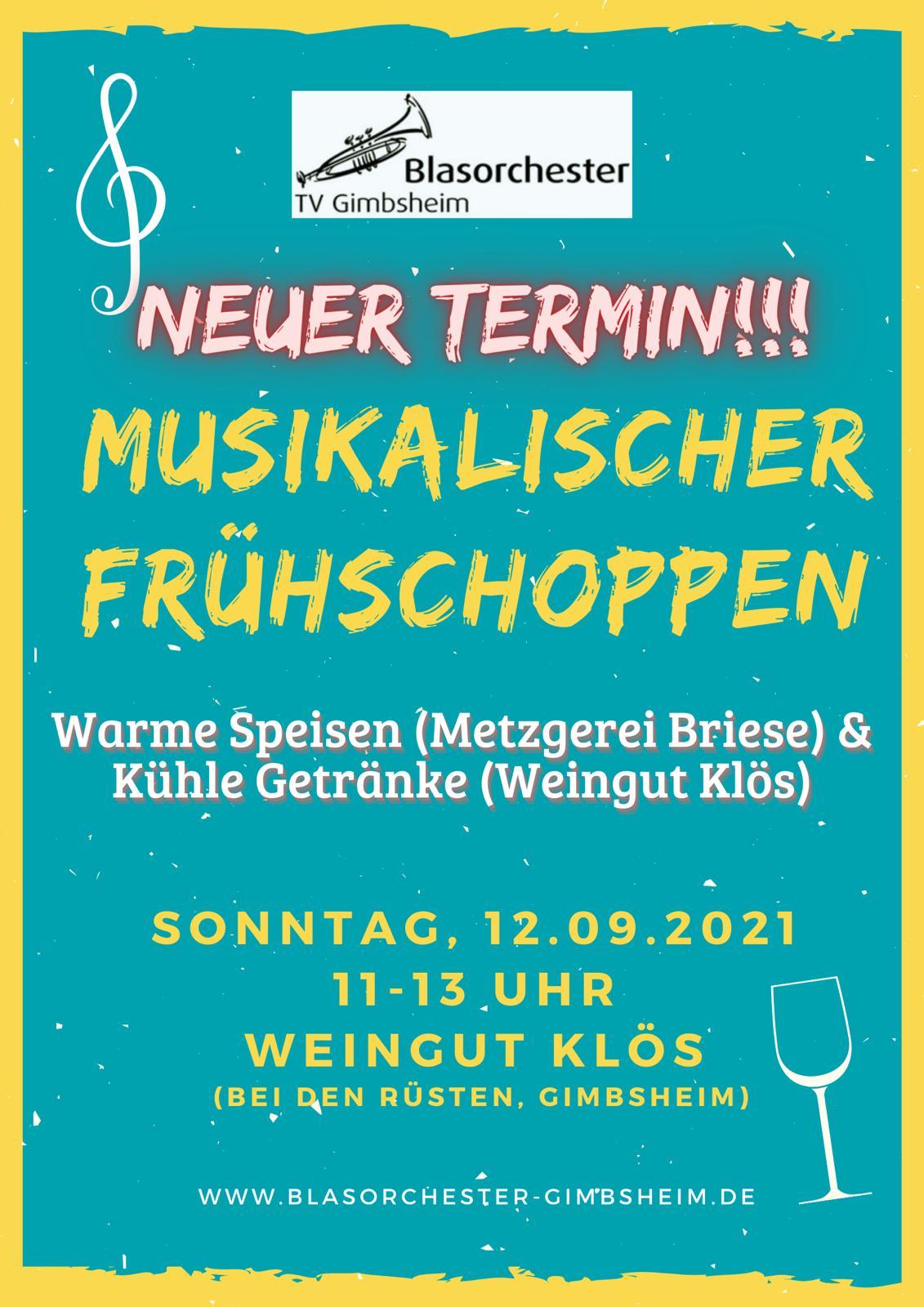 Musikalischer Frühschoppen – Neuer Termin!